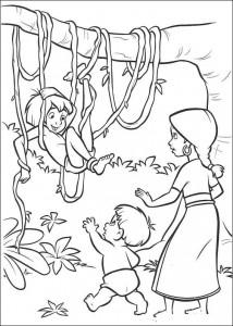 kleurplaat Jungle Boek 2 (19)