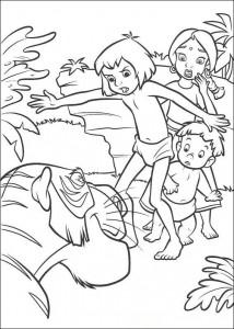 kleurplaat Jungle Boek 2 (20)
