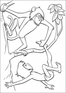 coloring page Jungle book (12)