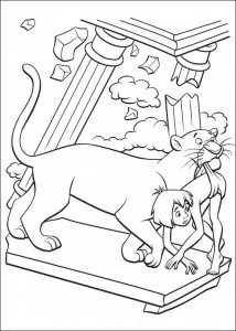 coloring page Jungle book (17)