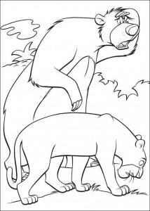 coloring page Jungle book (19)