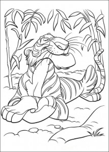 coloring page Jungle book (23)