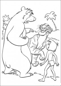coloring page Jungle book (24)
