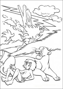 coloring page Jungle book (27)