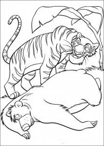 coloring page Jungle book (28)