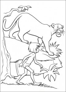 coloring page Jungle book (3)