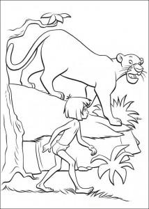 målarbok Junglebok (3)