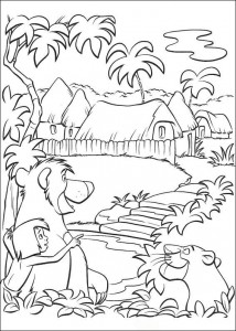 coloring page Jungle book (31)