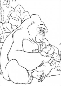 målarbok Junglebok (35)
