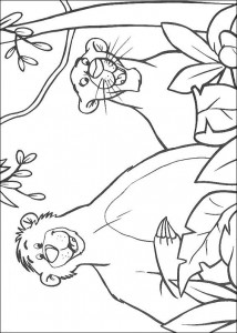 coloring page Jungle book (36)