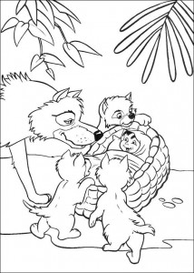 coloring page Jungle book (37)