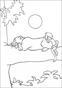 coloring page Jungle book (38)