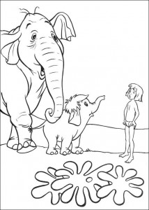 coloring page Jungle book (39)