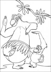 coloring page Jungle book (41)