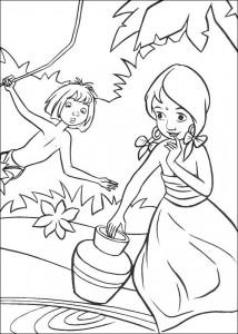 coloring page Jungle book (43)