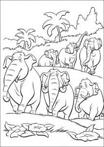 coloring page Jungle book (8)