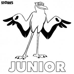 kleurplaat junior