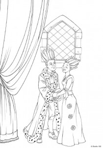coloring page K3 the fairy tales (1)