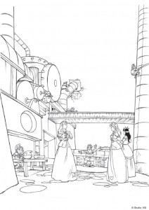 coloring page K3 the fairy tales (10)
