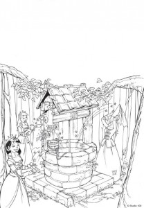 coloring page K3 the fairy tales (11)