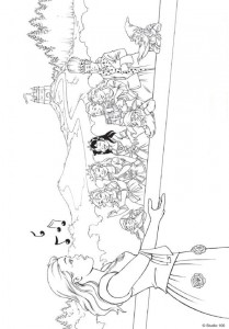 coloring page K3 the fairy tales (14)