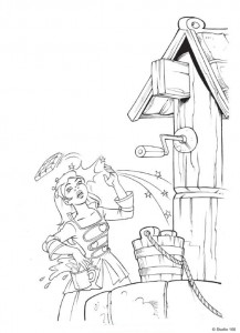 coloring page K3 the fairy tales (17)