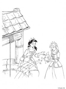 coloring page K3 the fairy tales (20)