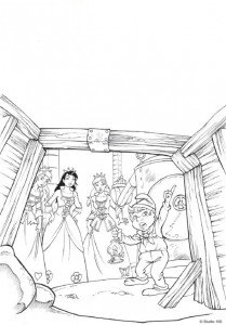 coloring page K3 the fairy tales (21)