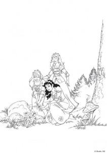 målarbok K3 sagorna (3)