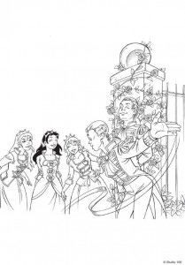 coloring page K3 the fairy tales (6)