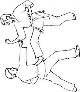 Malvorlage Karate (4)