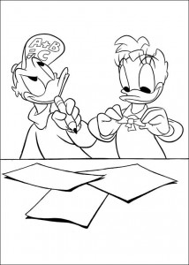 coloring page Katrien (7)
