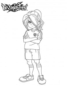coloring page Kazemaru