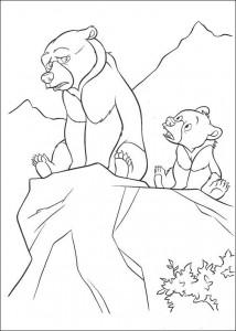 coloring page Kenai og Koda (11)