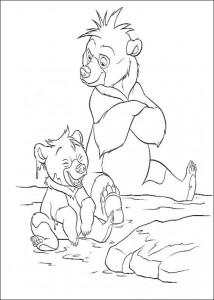 coloring page Kenai og Koda (12)