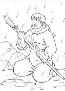coloring page Kenais brother