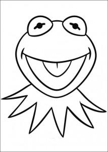 Disegno da colorare kermit (2)