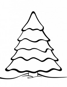 coloring page Christmas trees to decorate yourself (10)