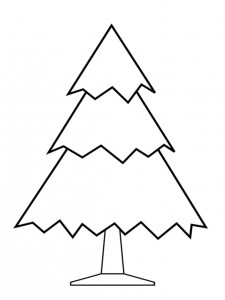 coloring page Christmas trees to decorate yourself (11)