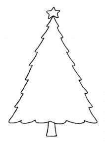 coloring page Christmas trees to decorate yourself (6)