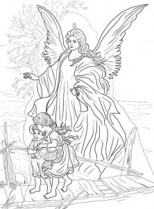 målarbok Julänglar (4)