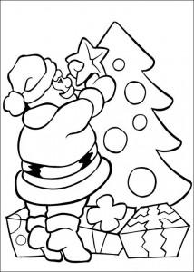 раскраска Рождество (14)