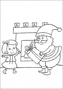 kleurplaat Kerstmis (2)