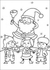 kleurplaat Kerstmis (3)