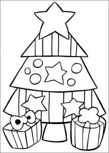 kleurplaat Kerstmis (41)