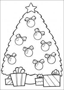 раскраска Рождество (6)