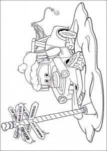 coloring page Christmas Cars (2)
