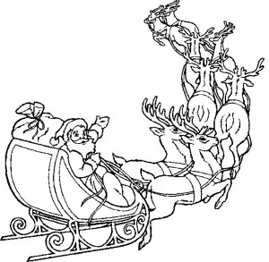 coloring page Christmas - Santa Claus (12)