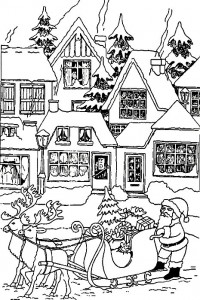 coloring page Christmas - Santa Claus (16)