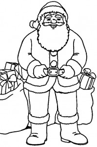 coloring page Christmas - Santa Claus (17)